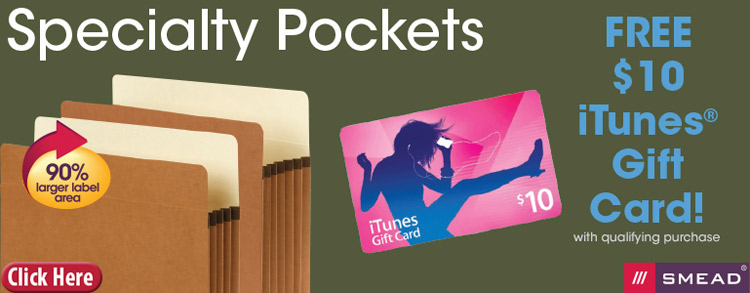 Specialty Pockets iTunes Gift Card